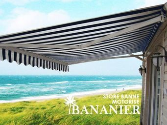 UsiRama.com - store extérieur monobloc motorisé bananier 3x2m - Tenda Per Esterni