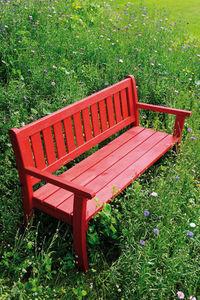JARDIPOLYS - banc de jardin en pin traité philadelphia 150x67x8 - Panchina Da Giardino