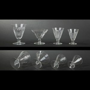 Expertissim - val saint lambert. partie de service de verres en - Servizio Di Bicchieri