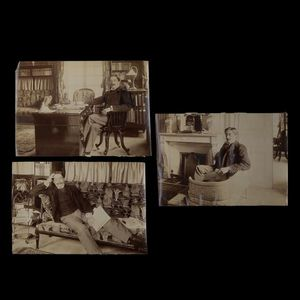 Expertissim - hervieu paul (1857-1915). trois photographies par - Fotografia