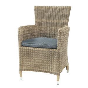 MAISONS DU MONDE - fauteuil gris saint-raphaël - Poltrona Da Terrazzo