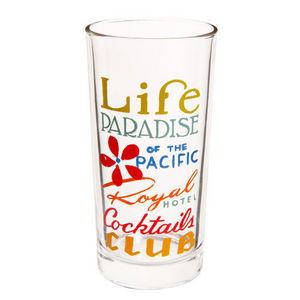 Maisons du monde - chope life paradise - Bicchiere