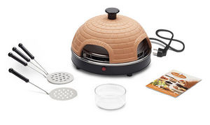 Food & Fun - pr 4.1 pizzarette basic 4 persons - Mini Forno Elettrico Per Pizza