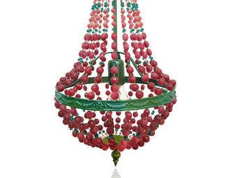 SUSSIEBIRIBISSI - imperial ruby - Lampadario