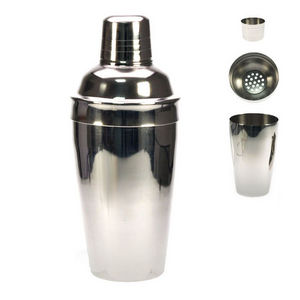 WHITE LABEL - shaker classique en inox - Shaker