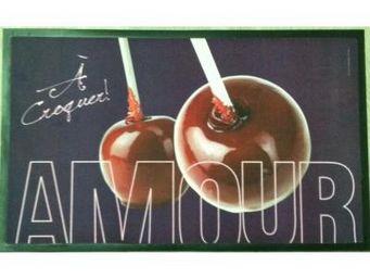 Cm - tapis de cuisine amour - Tappetino Per Lavello