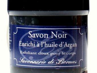 Savonnerie De Bormes - savon noir cosmétique enrichi à l'huile d'argan - Sapone Nero