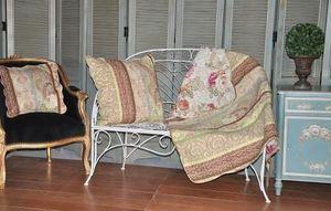 Demeure et Jardin - jeté de canapé imprimé cachemire - Plaid