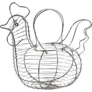 Aubry-Gaspard - panier à oeufs poule - Cesto Portauova