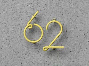 NAKNAK -  - Numero Decorativo