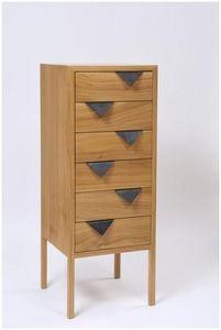Mathi Design - meuble bois chiffonnier - Cassettiera