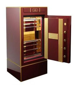 STOCKINGER BESPOKE SAFES - qimperial royal red - Cassaforte A Mobile