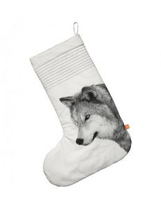 BY NORD - christmas sock, oversize, wolf - Calza Di Natale