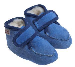 BABBI - bambi veg azul - Pantofola Da Bambino