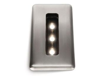 LEDINO BY PHILIPS - spot encastrable extérieur recessed inox rectangle - Faretto / Spot Da Incasso Per Pavimento
