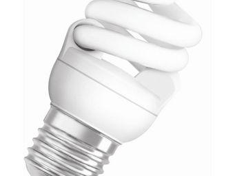 Osram - ampoule fluo compacte spirale e27 4000k 7w = 40w | - Lampada Fluorescente Compatta