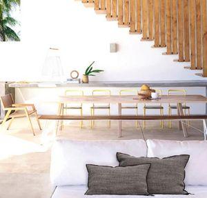 Maison De Vacances - lin napoli - Cuscino Rettangolare