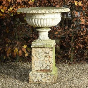 GARDEN ART PLUS -  - Vaso A Coppa Da Giardino