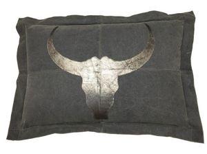 SHOW-ROOM - leather bulls head - Cuscino Rettangolare
