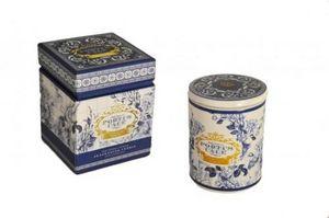 Demeure et Jardin - bougie parfum poivre rose et jasmin bleue - Candela Profumata