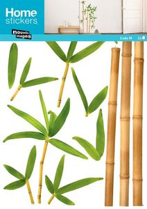 Nouvelles Images - sticker mural bambou aurea - Sticker