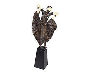 Demeure et Jardin - danseuse art déco - Statuetta