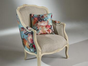 Robin des bois - fauteuil victor botanique - Poltrona Bergère