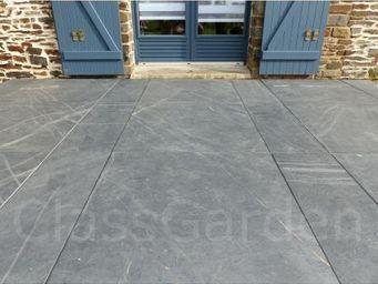 CLASSGARDEN - terrasse de 20 m² en dalle sciée de 50x50 - Lastra Per Pavimentazione Esterna