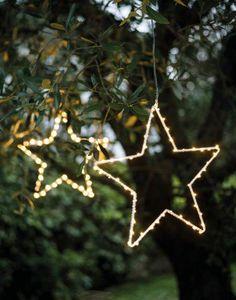 FIORIRA UN GIARDINO - varluci63 - Stella Luminosa Da Appendere
