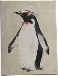 Amadeus - toile pingouin fun - Quadro Decorativo