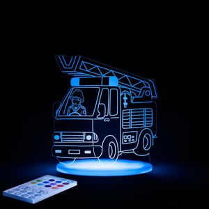 ALOKA SLEEPY LIGHTS - camion pompier - Luce Notturna Bambino