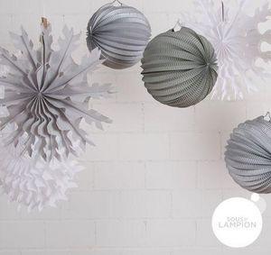 SOUS LE LAMPION - noël blanc - Lanternina