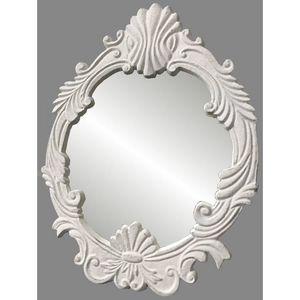 CHEMIN DE CAMPAGNE - style ancien miroir psyché de table coiffeur 26x20 - Specchietto Da Tavolo