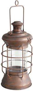 Aubry-Gaspard - lanterne de marin en métal cuivré - Lanterna Da Esterno