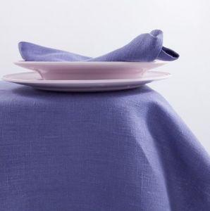 BORGO DELLE TOVAGLIE - purple pervinca - Tovaglia Quadrata