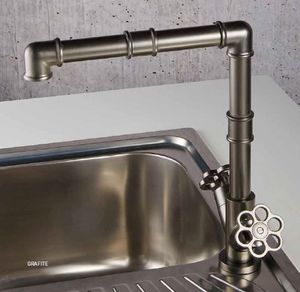 ITAL BAINS DESIGN - 5th avenue 22545 robinet de cuisine - Miscelatore Lavandino / Lavabo