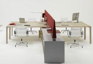 Unifor - pyramid - Postazione Ufficio Open Space