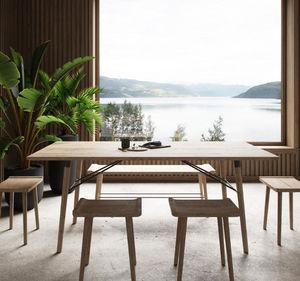BY WIRTH - scala dining - Tavolo Da Pranzo Rettangolare