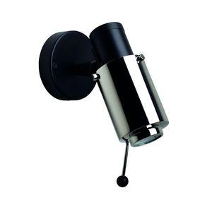 DCW EDITIONS - biny-spot orientable dimmable métal l19,8cm noir e - Faretto