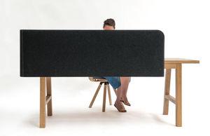 BUZZISPACE - buzziwrap-desk-- - Pannello Divisorio Ufficio