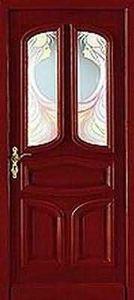 Meuse Menuiserie - perthoise ii rouge - Porta Ingresso A Vetrata