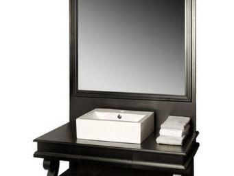 Luc Perron - meuble salle de bain charles x une vasqu - Mobile Lavabo