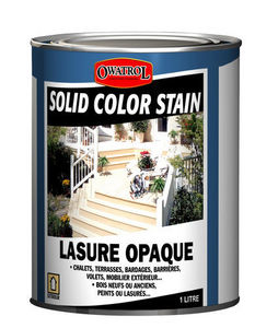 DURIEU - solid color stain - Vernice Opaca Per Legno Da Esterni