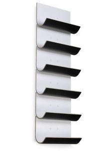 Vinnomio - vertical blanco /negro - Portabottiglie (cucina)