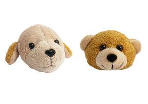 L'Univers de La Poignee - bouton chien et nounours en peluche 10 euros/pc - Pomello Mobile Bambino