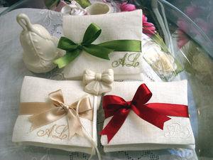 RICAMERIA MARCO POLO - sacchetti per bomboniere matrimonio e cerimonie - Bomboniera Matrimonio
