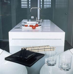 SILESTONE et ECO BY COSENTINO - blanco zeus - Piano Da Lavoro Cucina