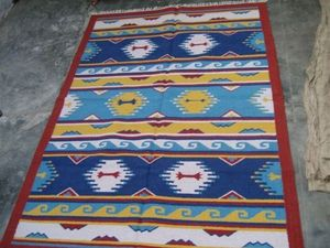 Red Rugs -  - Tappeto Kilim