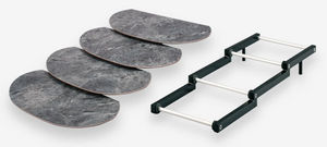 Rigaflex - escalier 3 niveaux étroit - Espositore Per Buffet