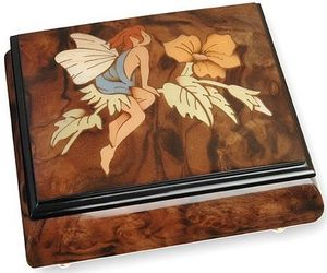 Ayousbox - boîte à musique felitsa - avec compartiment à bagu - Carillon